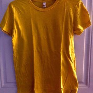 American Apparel Classic Girl Yellow Tee